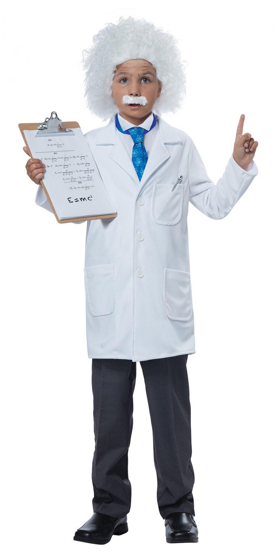 Size: 2X-Large #00297  Girls Doctor Albert Einstein Physicist Scientist Child Costume