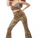 Size: Small  #01260 Zoo Cat Leopard Pant Set Feline Adult Costume