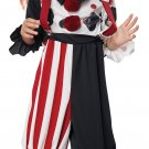 Size: Large #00189 IT Creepy Clown Gothic Monster Toddler Child Costume