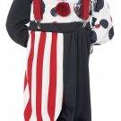 Size: Medium #00189 IT Creepy Clown Gothic Monster Toddler Child Costume
