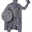 Size: Medium #01512 Greek Roman Spartan Warrior Turned to Stone Adult Costume