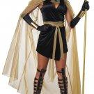 Size: Large #01450  Queen Alexandria Egyptian Feline Goddess Bastet Cat Woman Adult Costume