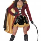 Size: Large #01452 Circus Ring Leader Dazzling Ringmaster Adult Costume