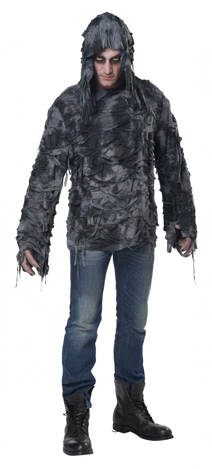 Size: Small/Medium #01212 Zombie Hoodie Military Camouflage World War Z Adult Costume