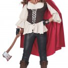 Size: Small #01449 Red Riding Hood Werewolf Granny Adult Costume