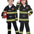 Size: Large #00187  Battalion Chief Firefighter Jr. Toddler Child Costume