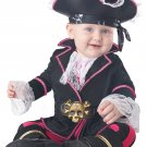 Size: 6-12 Months #10055 Pirates of the Caribbean Captain Cuddlebug Baby Infant Costume