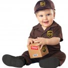 Size: 6-12 Months #10054 UPS Delivery United Parcel Service Baby Infant Costume