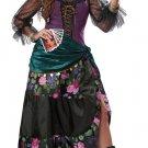 Size: Medium #01108  Fortune Teller Esmeralda Disney Mystical Charmer Adult Costume