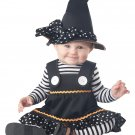 Size : 6-12 Months #10048 Wicked Crafty Little Witch  Infant Costume