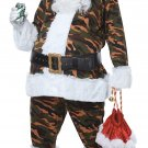 Size: Large/X-Large #01519 Christmas Military Camoulfage Santa Claus Deluxe Suit  Adult Costume