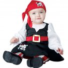 Size: 6-12 Months #10028 Buccaneer Petite Pirate Baby Infant Costume