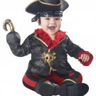 Size: 6-12 Months #10052 Pirates of the Caribbean Captain Hook Baby Infant Costume