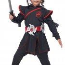 Size: Large  #2020-075  Little Ninja Girl Stealth Samurai Toddler Child Costume