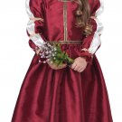 Size: Medium  #2020-039 Renaissance Princess Medieval Toddler Child Costume
