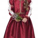 Size: Large  #2020-039 Renaissance Princess Medieval Toddler Child Costume