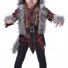 Size: Medium #2020-037 Wee-Wolf Girl Toddler Werewolf Child Costume