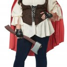 Plus Size: 1XL #01753 Aint Afraid Of No Wolf Red Riding Hood Adult Costume