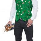 Size: Small/Medium #01517  Christmas Holiday Vest Adult Costume