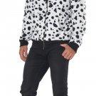 Size: Small/Medium #01455  Disney 101 Dalmatian Adult Hoodie Costume