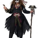 Plus Size: 2X #01432 Witch Doctor Gothic Voodoo Magic Adult Costume