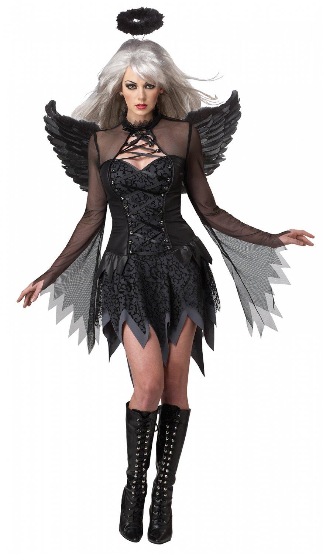 Size: 2X-Large #01141 Victoria Secret Gothic Fallen Angel Adult Costume