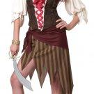 Size: Medium #01124 Buccaneer Beauty Pirate Captain Adult Costume