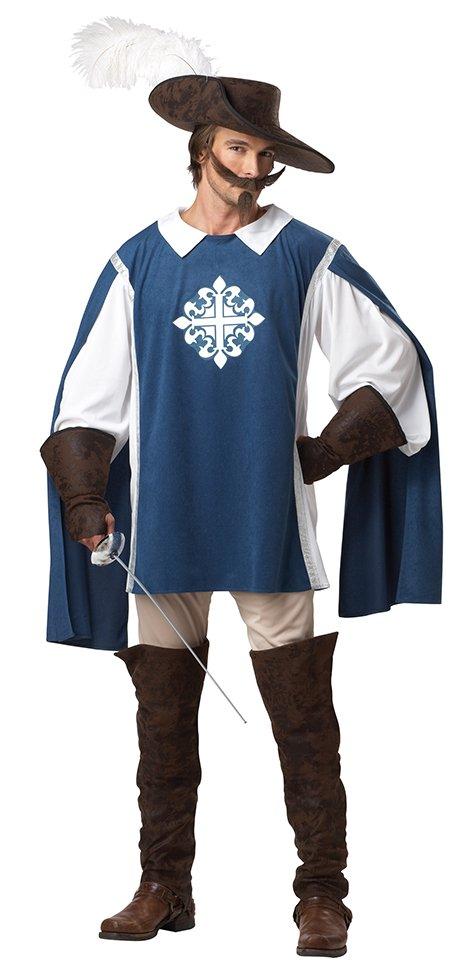 Size: Medium #01130  Medieval  Renaissance Three Musketeer Adult Costume