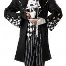 Size: X-Large #01101 Disney Dark Mad Hatter Alice In Wonderland Adult Costume