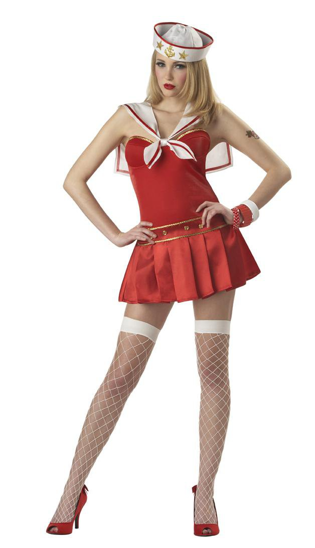Size: Small #01058 Sailor Navy Nautical Star Adult Costume