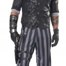 Size: Large #01057 Victorian Steampunk Soldier  Commander Adult Costume