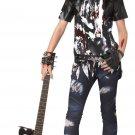 Size: Jr (11-13) #05057  Punk Rock Rocked Out Zombie Teen Costume