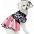 Size: Large #20148  1950's Poodle Pooch Pup Pet Dog Costume