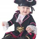 Size: Medium #10055 Pirates of the Caribbean Captain Cuddlebug Baby Infant Costume