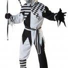 Size: Medium #01123 Evil Jester Clown Nobody's Fool Adult Costume