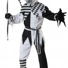 Size: Large #01123 Evil Jester Clown Nobody's Fool Adult Costume