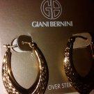 $120 Gianni Bernini 24k Gold over Sterling Silver Earrings