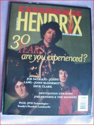 EXPERIENCE HENDRIX MAGAZINE #3 SEALED! 1997 DIRECT SALE