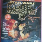 STAR WARS REBEL ASSAULT II GAME MANUAL- HTF! COLLECTIBLE