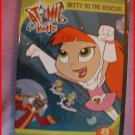 ATOMIC BETTY VOL. 2 BETTY TO THE RESCUE ANIMATED DVD NEW!