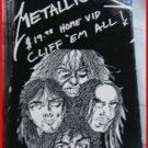 MUSIC- METALLICA CLIFF'EM ALL VHS