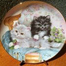 "Franklin Mint Plate ""Cuddly Companions"" by Brian Walsh"
