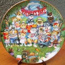 "Franklin Mint Plate ""Purrfect Pops"" by Bill Bell"