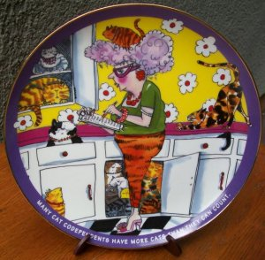 """Danbury Mint Plate """"Roll Call"""" by Ronnie Sellers"""