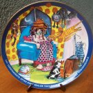 "Danbury Mint Plate ""Unmanageable"" by Ronnie Sellers"