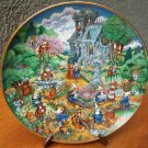 "Franklin Mint Plate ""Holy Hobbies"" by Bill Bell"