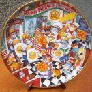 "Franklin Mint Plate ""Slice of Purrfection"" by Bill Bell"