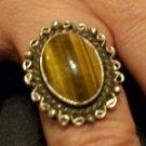 Ladies Tigers Eye Ring