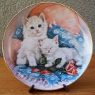 "Franklin Mint ""Purrfectly Precious"" Plate by Brian Walsh"