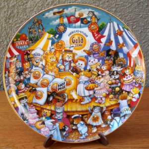 "Franklin Mint ""Gold Medal Winners"" by Bill Bell"